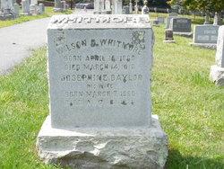 Mary Josephine <I>Baylor</I> Whitmore