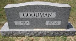 "Charles Amos ""Charlie"" Goodman"