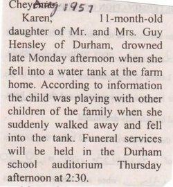 Karen Sue Hensley