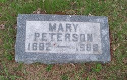Mary <I>Anderson</I> Peterson