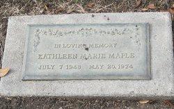 Kathleen Marie Maple