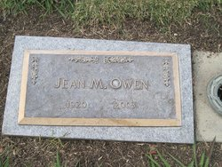 Jean M Owen Greenwood