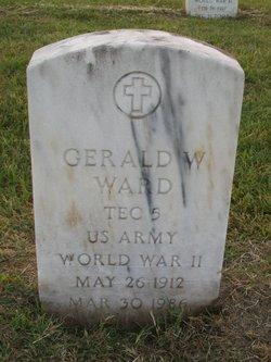 Gerald W Ward