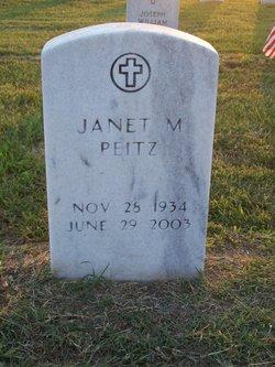 Janet Marilyn <I>Kudebeh</I> Peitz