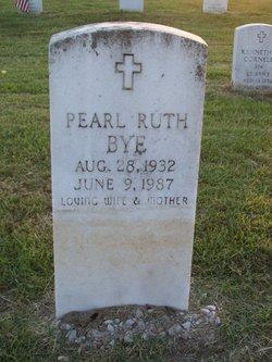 Pearl Ruth <I>Hays</I> Bye