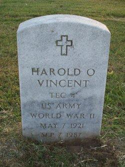 Harold O Vincent