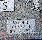 Clara H Anders