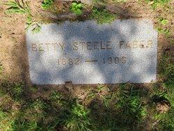 Betty <I>Steele</I> Faber