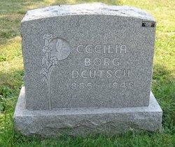 Cecilia <I>Borg</I> Deutsch