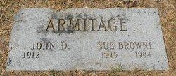 Sue <I>Browne</I> Armitage