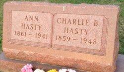 Charlie Benton Hasty