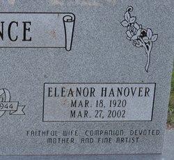 Eleanor <I>Hanover</I> Nance