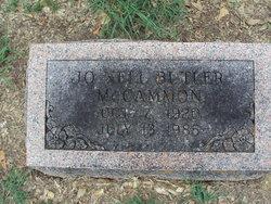 Jo Nell <I>Butler</I> McCammon