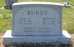 Elma Florence <I>Hunter</I> Bundy