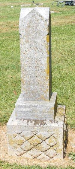 Elijah B. Tannyhill