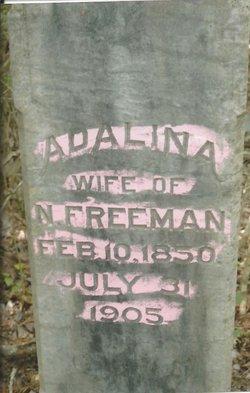 Adalina <I>Walley</I> Freeman