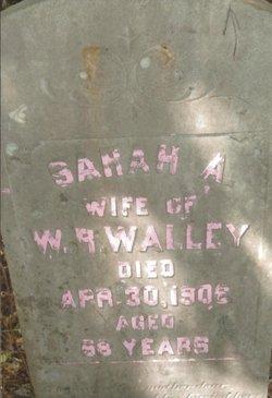 Sarah Ann <I>Bradley</I> Walley