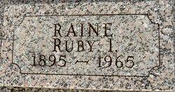 Ruby I Raine
