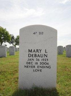 Mary L DeBaun