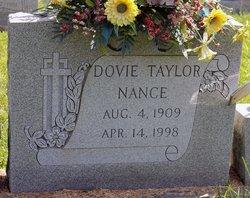 Dovie <I>Taylor</I> Nance