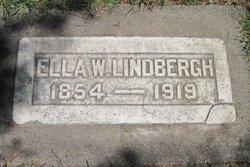 Ella W Lindbergh