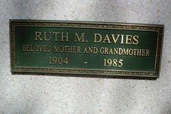 Ruth Marguerite <I>Schwartz</I> Davies