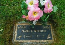 Mabel Evelyn <I>Holmes</I> Werstler