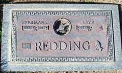 Sherman J Redding