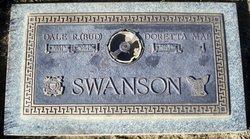 """Dale R """"Bud"""" Swanson"""
