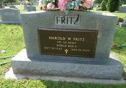 Harold William Fritz