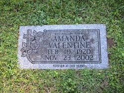 Amanda <I>Barnes</I> Valentine