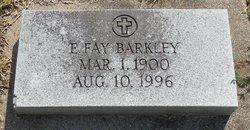 E Fay <I>Snearly</I> Barkley