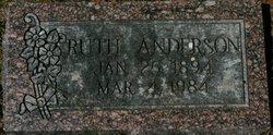 Ruth <I>Danielson</I> Anderson