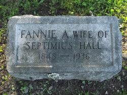 Fannie <I>Anshutz</I> Hall
