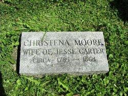 Christena <I>Moore</I> Carter