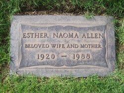 Esther Naoma <I>Whigham</I> Allen