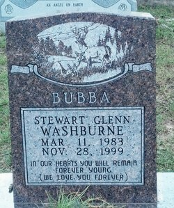 """Stewart Glenn """"Bubba"""" Washburne"""