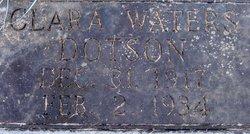 Clara B. <I>Waters</I> Dotson