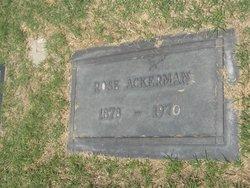 Rose Ackerman