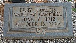 Ruby <I>Hawkins</I> Campbell