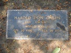 Harold Don Green