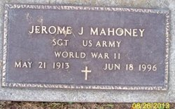 Jerome J Mahoney