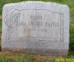 Sara <I>Smolke</I> Harris