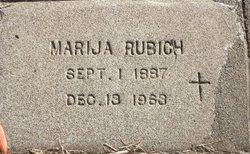 Marija Seman <I>Boravina</I> Rubich
