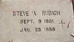 Steve A Rubich