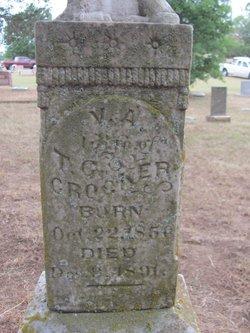 Virginia A <I>Eversull</I> Crocker