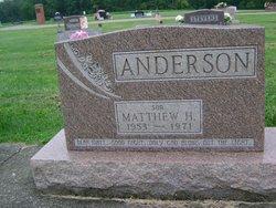 Matthew Herbert Anderson