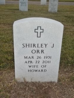 Shirley Jean <I>Smith</I> Orr