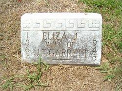 Mary Ann Eliza Jane <I>Bagwell</I> Garrett