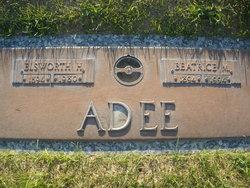 Beatrice M <I>Blythe</I> Adee